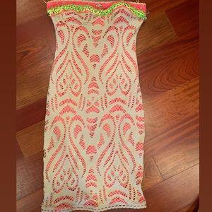 Strapless Zinay Dress